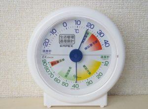 ダイソー 湿度計 売り場 精度 デジタル