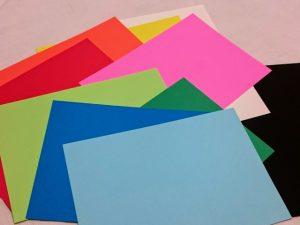 100均 画用紙 種類 キャンドゥ 色画用紙