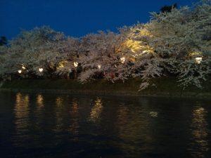 弘前さくらまつり 夜桜 駐車場 ライトアップ 時間 屋台
