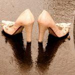 雨の日 靴 濡れる