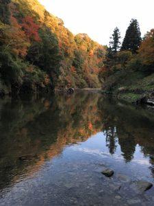 養老渓谷 紅葉 ハイキング