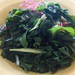 わかめ 消化 できない 栄養 効果効能 食物繊維